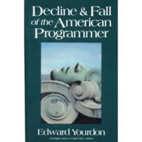 """""""el declive y la caída del programador americano"""""""