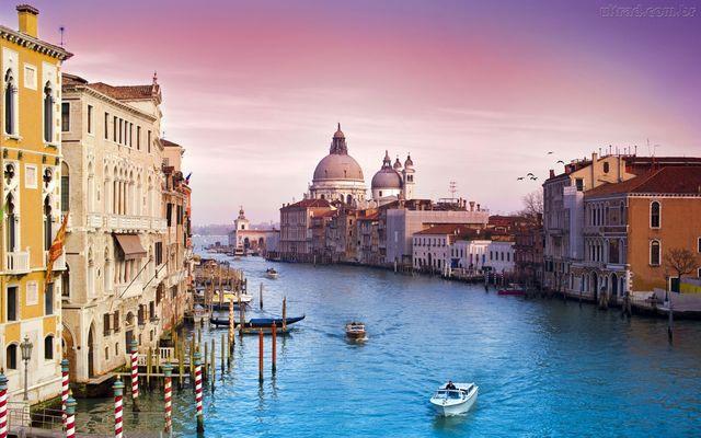 Passagem por Veneza