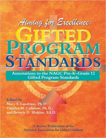 NAGC Standards for Gifted Education