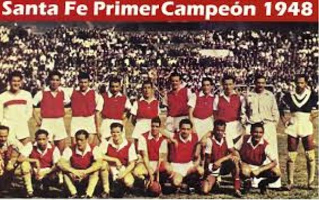 Primer Campeonato Profesional Colombiano