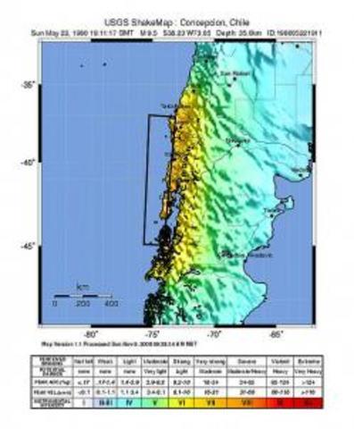 Terratrèmol de Valdivia de 1960