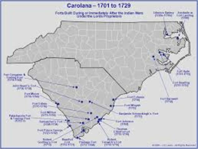 Carolana settlers.