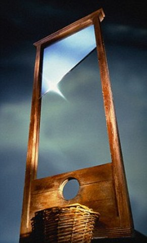The Guillotine is created