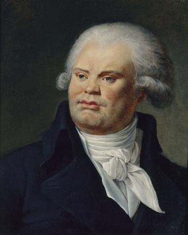 Georges Danton is sentenced to death