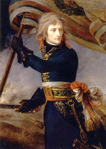 The Directory appoints Napoleon to lead a French army against Austria and the Kingdom of Sardinia