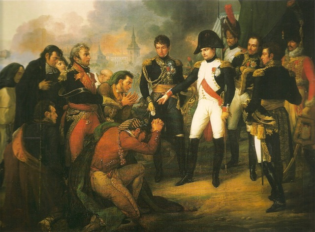 Napoleon attmepts to conquer Spain by placing his brother on the throne; this infuriated th Spanish people and fired up their feelings of nationalism