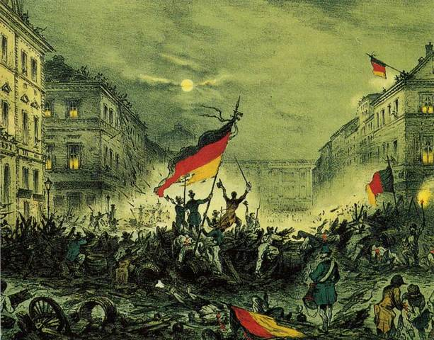 European revolution caused by spirit of the French Revolution