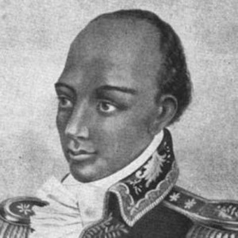 Haitian man named Toussaint L'Ouverture leads Haitian slaves in a revolt