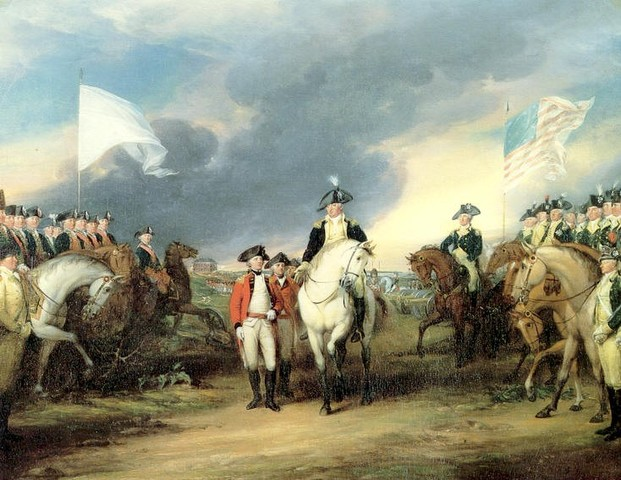 France comes to the aid of the Americans in the American Revolution