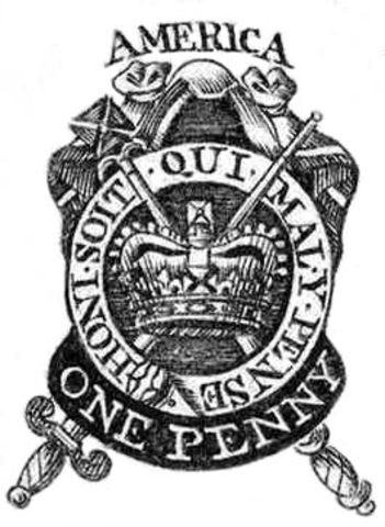 Parliament passes the Stamp Act