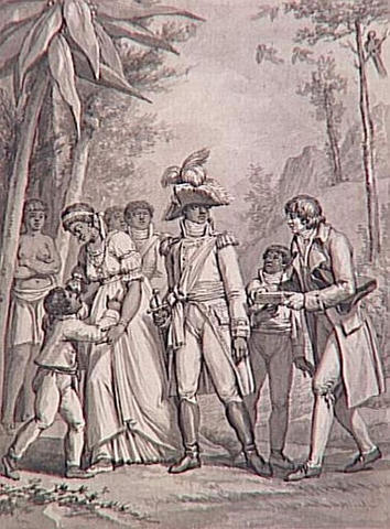 Napoleon sends French troops over to Saint Domingue to try and remove L'Ouverture from power