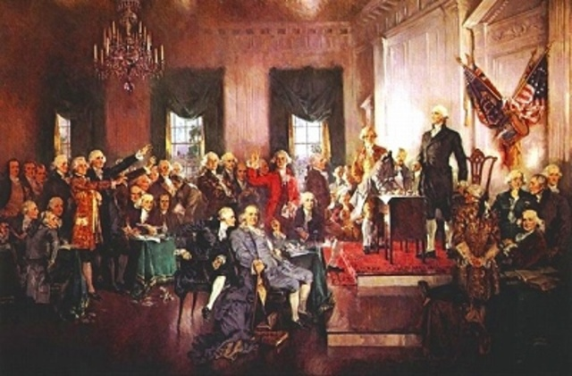 Congress approves a Constitutional Convention to revise the Articles of Confederation