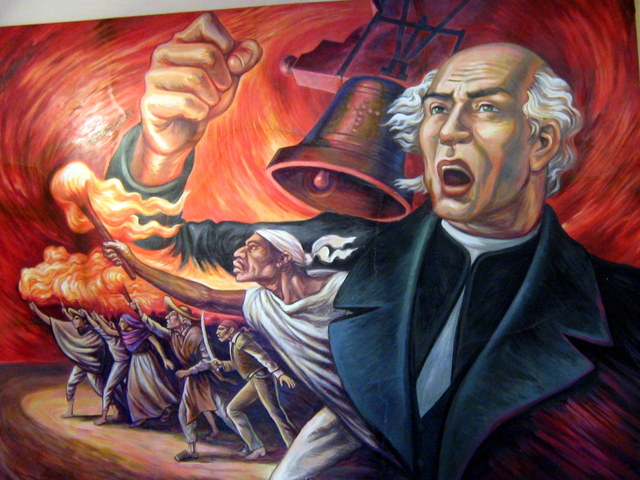 the Spanish army defeats the uprising of Miguel Hidalgo and his people