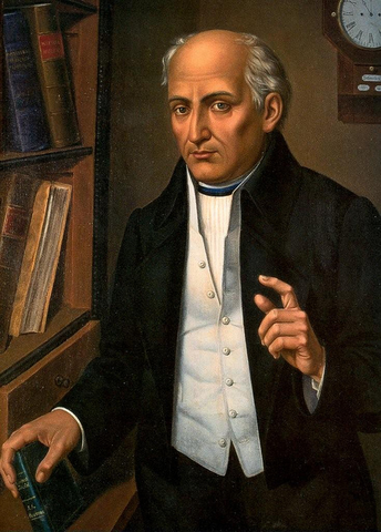 Padre Miguel Hidalgo calls for a rebellion against the Spanish