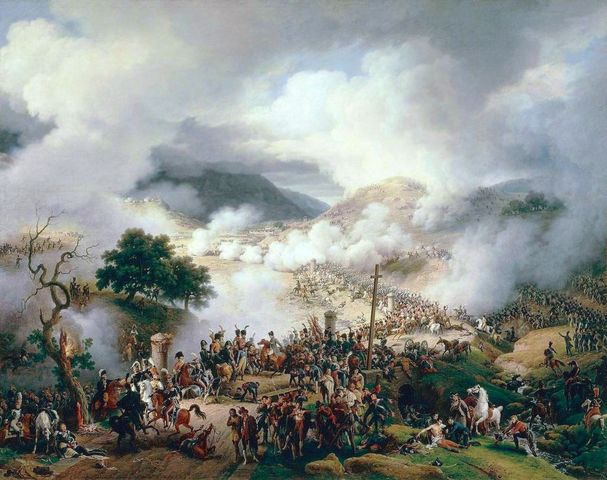 Napoleon's army invades Spain and Portugal
