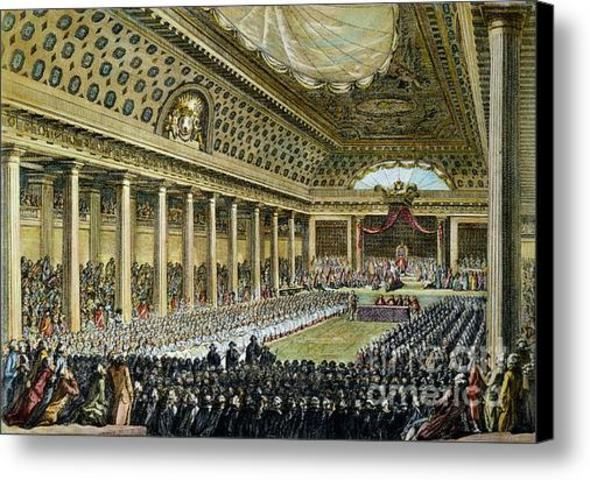 The Estates General is held for the first time in 175 years