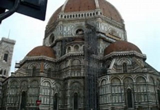 Chegada a Florença
