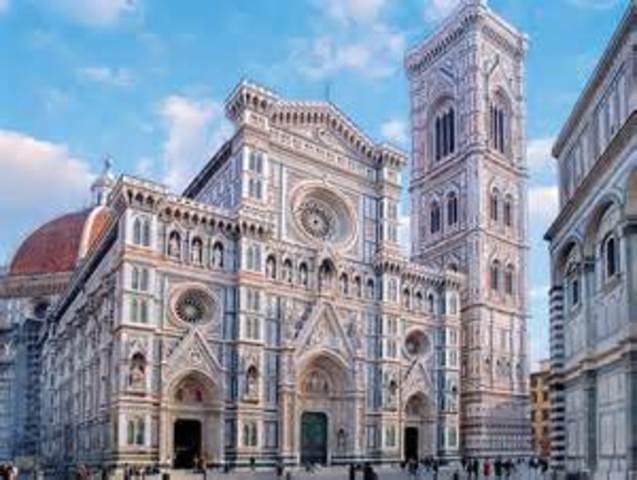 A partida para Florença