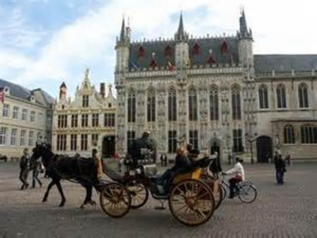 Chegada a Flandres e partida para a Antuérpia