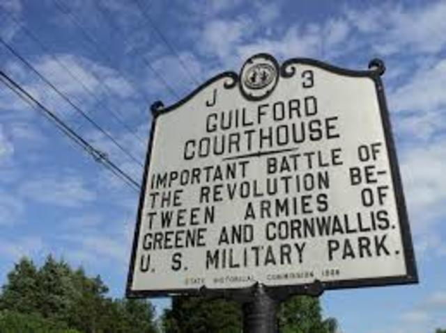 Guilford Courthouse  Chap 10