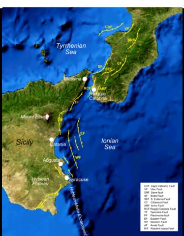 Sicily 1693 earthquake