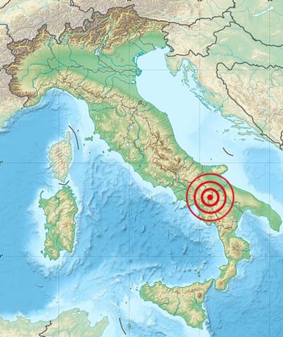 Irpinia-Basilicata 1694 earthquake
