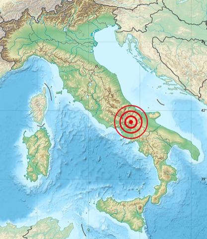 Molise 1805 earthquake