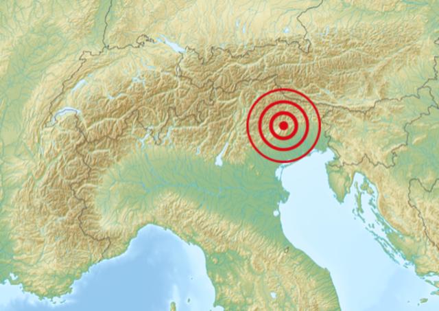 Alpago 1873 earthquake
