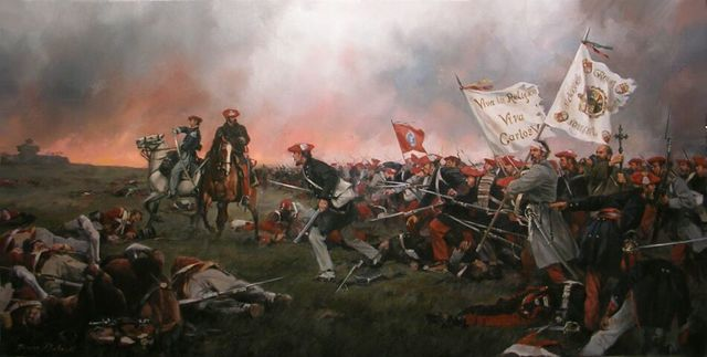 Comienzo de la I Guerra Carlista.