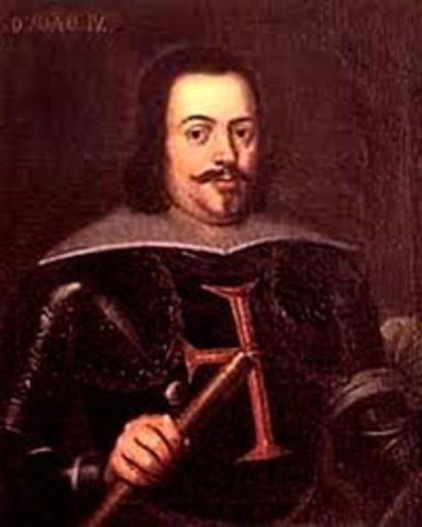 Coronación de Juan IV de Portugal