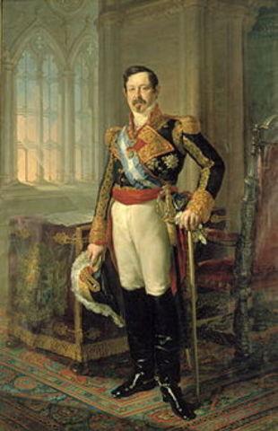 Llegada al gobierno de Narváez.