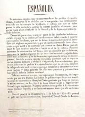Manifiesto de Manzanares.