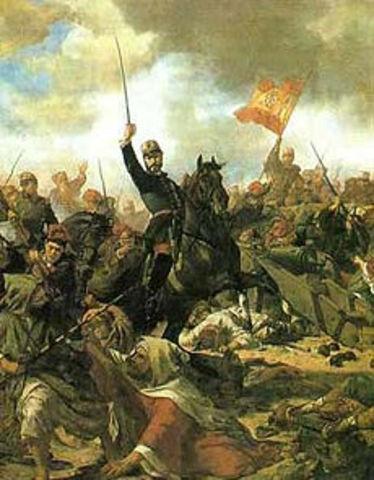 Guerra contra Marruecos.