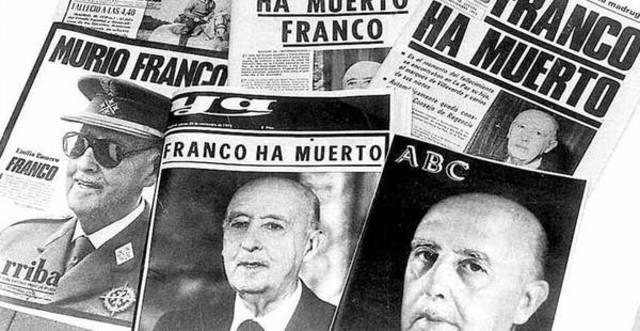 Muere Franco.