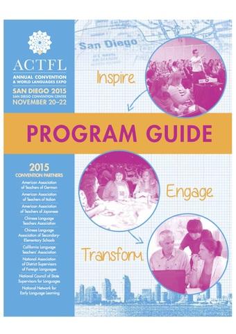 ACTFL 2015 - San Diego