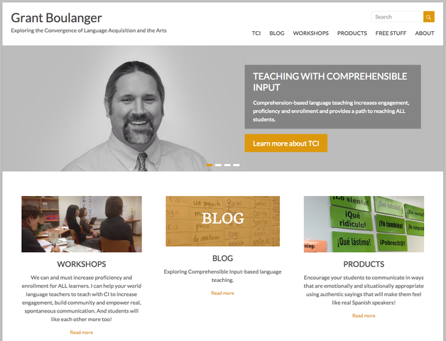 GrantBoulanger.com - Exploring the Convergence of Language Acquisition and the Arts