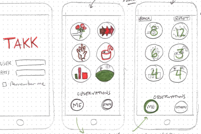 TAKK - A Participatory Professional Learning App for iPhone