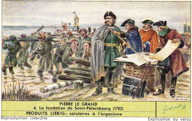 Founding of St. Petersburg