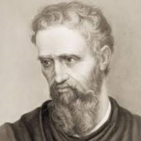 Michelangelo was born.