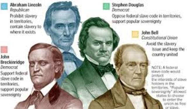 Pt 1 Election of 1860 Takes Place