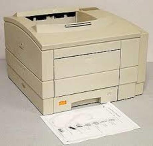 Первый лазерный принтер