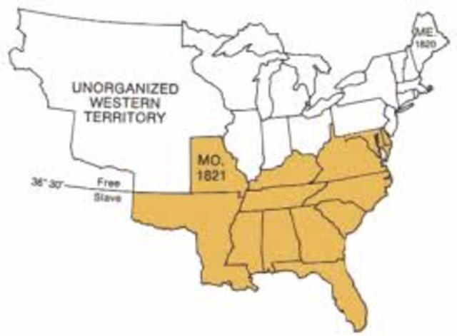 The Missouri Compromise of 1820