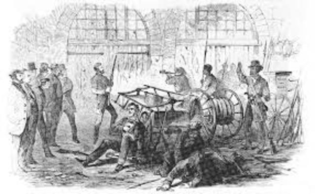 The Attack on Harper's Ferry