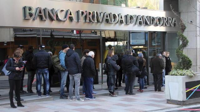 Autoridades españolas solicitan a Andorra datos de servidores de Banco Madrid