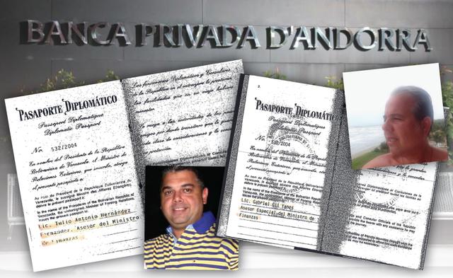 Venezolanos con pasaporte diplomático tejieron red de lavado en Andorra