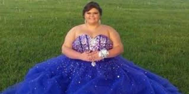 Andrea goes to Prom