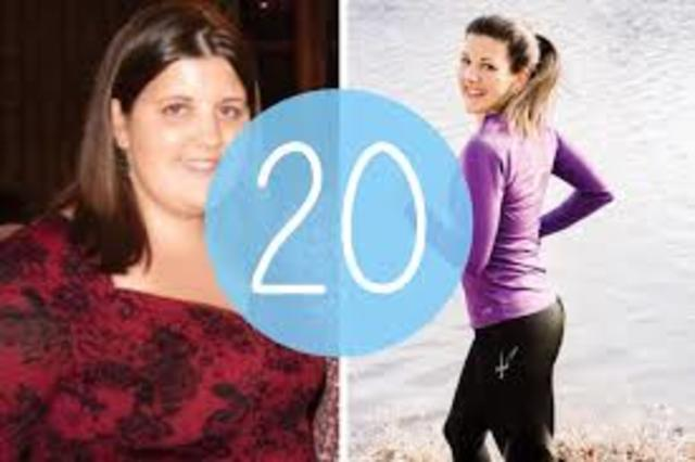 Andrea is thrilled to have lost 20 more pounds