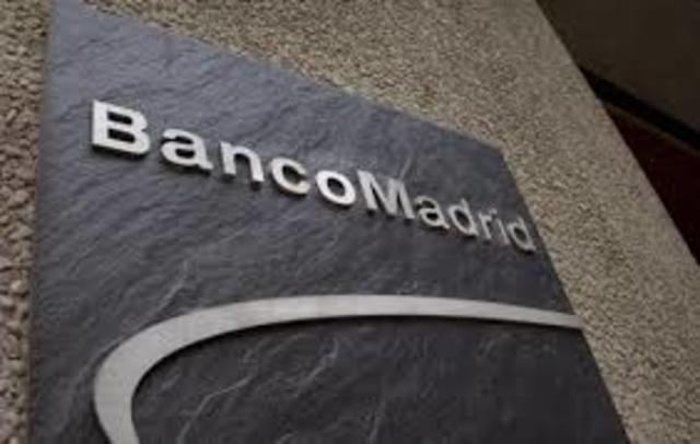 El Banco de España interviene el Banco de Madrid filial del BPA