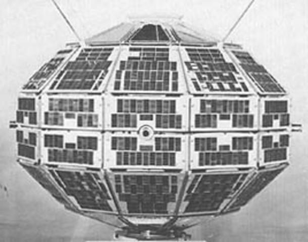 Alouette 1 Launching (CAN/USA)