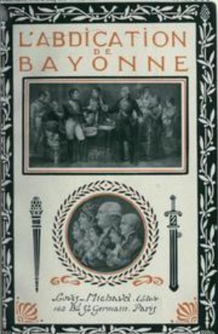 abdication of Bayonne